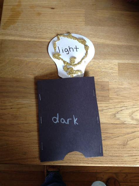 child craft light saltmeadowacademy preschool craft opposites light and
