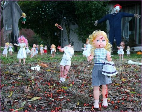 ideas outdoor halloween decoration ideas to make your superlative halloween yard decoration ideas