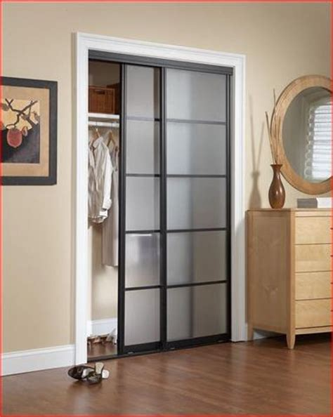 Frosted Closet Sliding Doors by Sliding Doors Frosted Glass