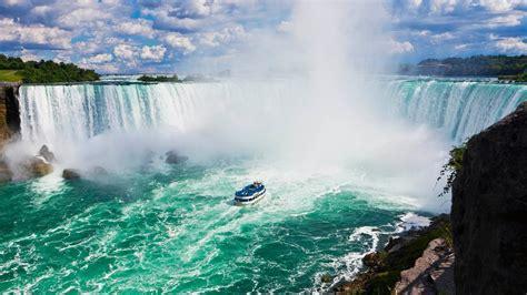 niagara falls boat tour canadian side niagara falls canadian side tour and maid of the mist boat