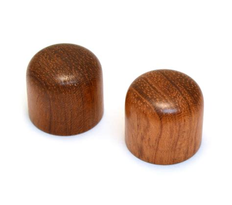 Wood Knobs by Guitar Parts Resource Wood Guitar Bass Knobs