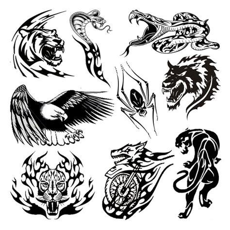 tuff tattoo designs tough animals tattooforaweek temporary tattoos
