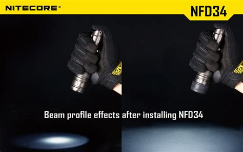 Nitecore Beam Colour Filter For Flashlights 25mm Nfg25 colour filters 34mm nfg34 nfr34 nfb34 nfd34 r100 can only be purchased when purchasing a