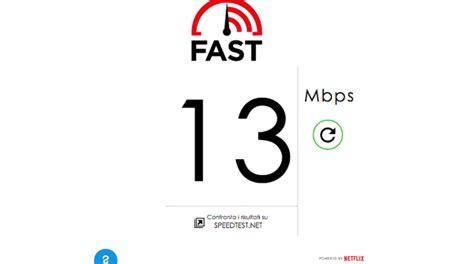 fast netflix lancia il test di velocit 224 di rete