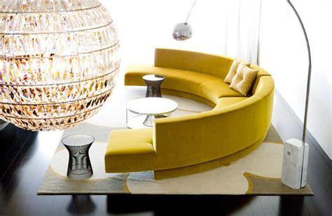 divani circolari 31 esempi di arredamento con divani rotondi mondodesign it