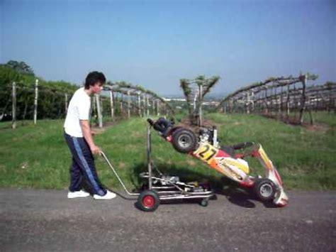 carrello porta kart usato carrello solleva kart selfkart
