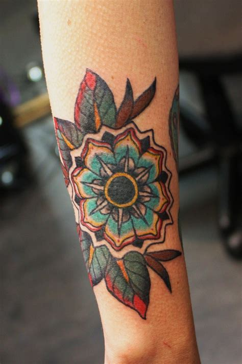 tattoo flower geometric geometric tattoo flower ideas flawssy