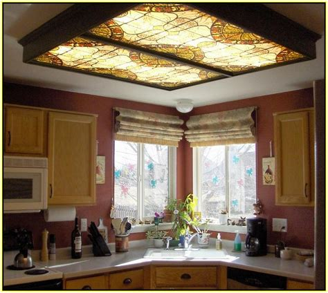 decorative fluorescent light panels kitchen fluorescent light covers decorative home design ideas