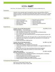 Customer Support Resume Summary