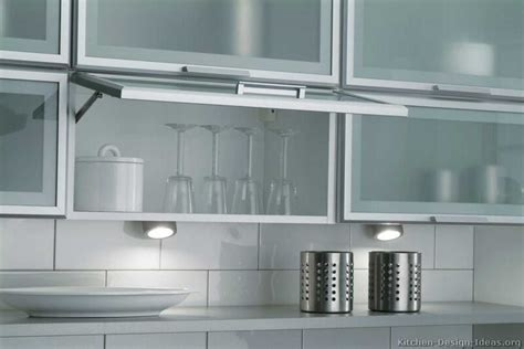 Kitchen Cabinet With Glass Kitchen Cabinet Doors Aluminum Frame Derektime Design Preparing Before Choosing Glass