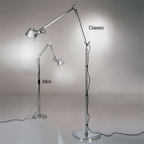 tolomeo mini floor l artemide tolomeo mini floor light reading l with arms