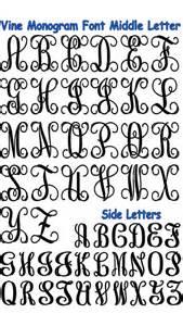 monogram letter monogrammed letters sewing