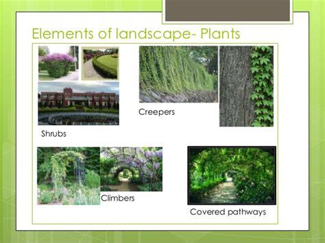 elements of landscape design elements of landscape