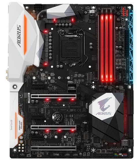 Gigabyte Z270x Ultra Gaming Intel Socket 1151 Kaby Lake Series gigabyte aorus z270x gaming 7 intel z270 socket 1151 atx motherboard ga z270x gaming 7 novatech