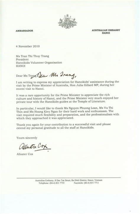 Australian Embassy Letter Csvn PhẠN ä á I Viá C C 244 Ng NhẠN V 224 Treo Cá V 224 Ng TẠI Th 224 Nh Phá Yarra