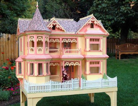victorian barbie house woodworking plan doll house