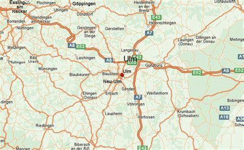 map of ulm germany ulm location guide
