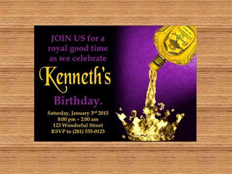 printable crown invitations printable custom invitation crown royal themed party