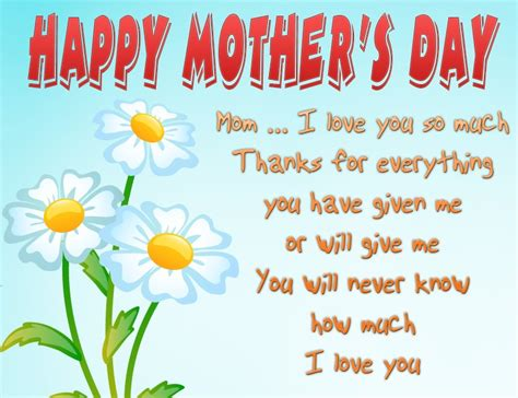 mother day card flowers and quotes happy mothers day cards amazing