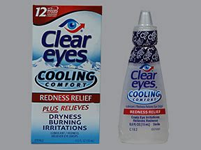 clear eyes cooling comfort eye drops clear eyes cooling comfort uses side effects