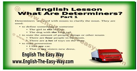 Resume Quantifiers What Are Determiners Grammar The Easy Way Grammar The