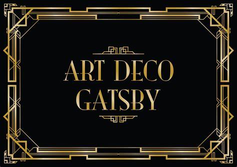 gatsby border template gatsby border template 28 images gatsby invitation