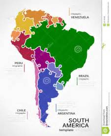 south america map template map of south america stock vector image 45760206