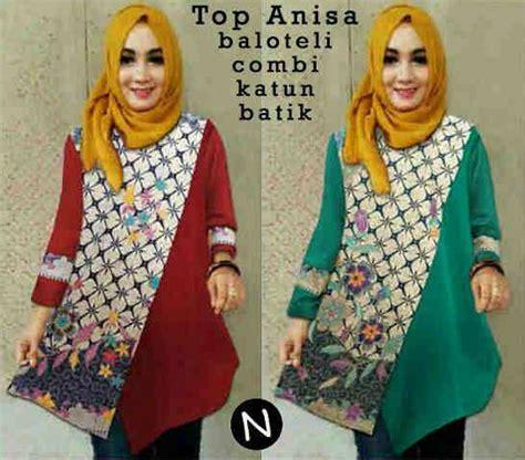 gambar model batik kerja wanita muslimah baju gambar tunik
