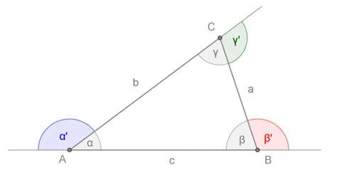 somma degli angoli interni di un triangolo isoscele triangoli openprof