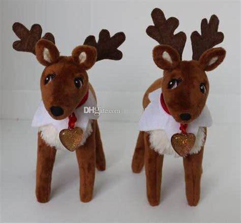 Reindeer For On The Shelf by Pets Reindeer On The Shelf Soft Dolls For