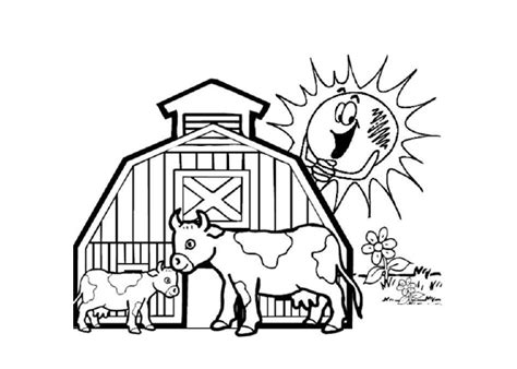 Farm Animal S 03 Binatang Ternak 5 Sedang Figure Farm lankawi free coloring pages