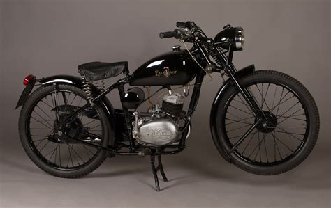 May 7 Bike Race Excelsior Mba by An Excelsior Consort Motorcycle With 98cc Single Cylinder
