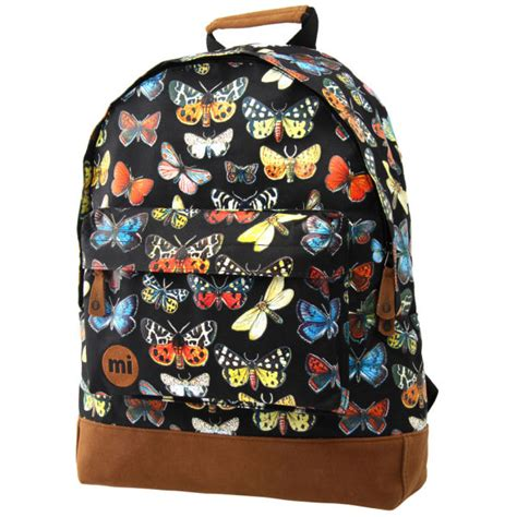 Backpack Butterfly mi pac butterfly backpack black free shipping