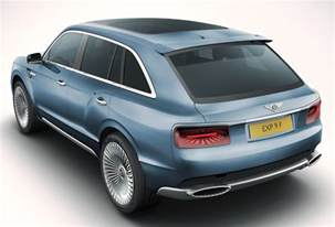 Bentley Suv Photos A Bentley Suv It May Become Reality Cars Trucks