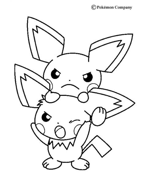 pokemon coloring pages pichu pokemon coloring pages to print out az coloring pages