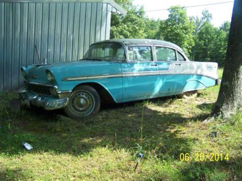 1956 Chevrolet 4 Door Hardtop For Sale by Sell Used 1956 Chevrolet Belair 4 Door Hardtop Blue Great