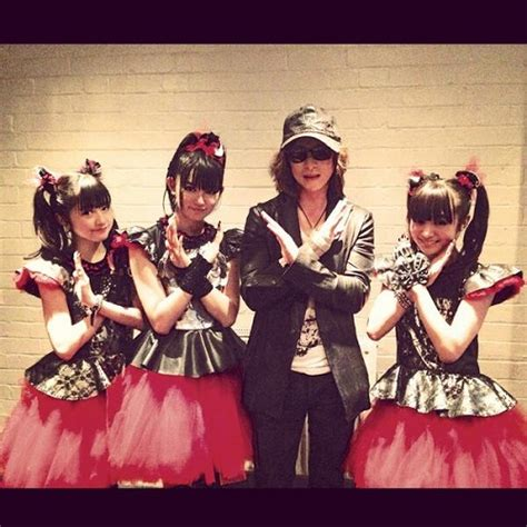 babymetal no no rainbow endles another connection between yoshiki visual kei and key