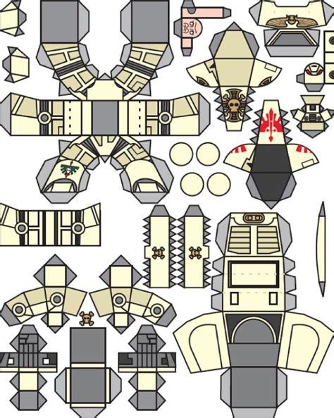 Papercraft 40k - mini warhammer de jim bowen paper fr