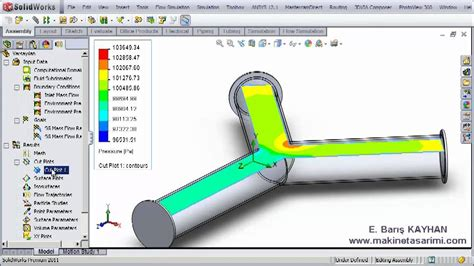 tutorial solidworks flow simulation 2011 solidworks flow simulation video tutorial youtube