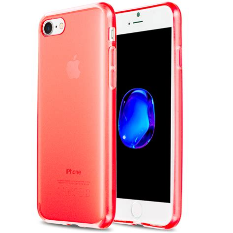Hdc Premium Iphone 7 4 7 for apple iphone 7 4 7 slim grip tpu rubber transparent silicone cover ebay