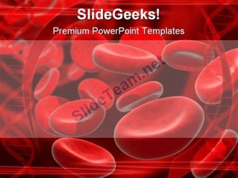 blood cells medical powerpoint template 0610 pin by powerpoint templates on abstract powerpoint