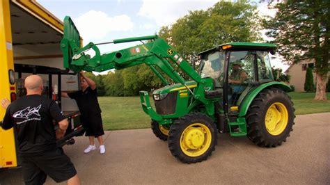 The Green Tractor borrowing jason aldean s big green tractor
