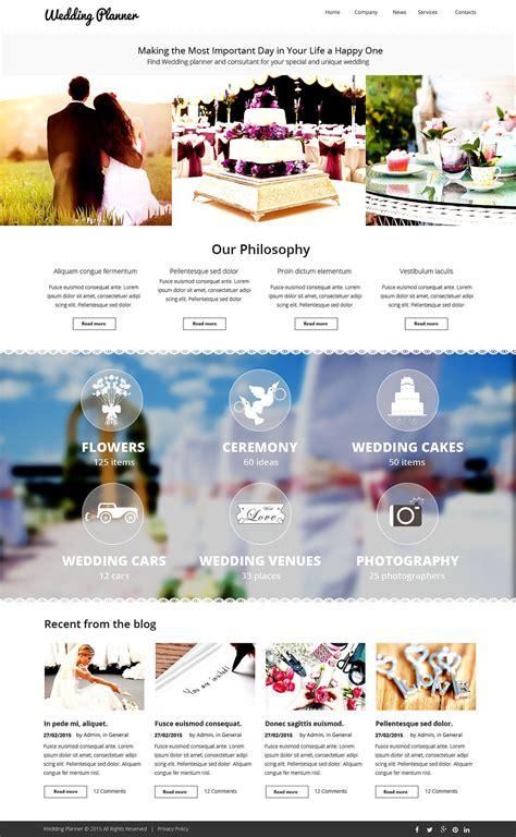 Wedding Planner Website Template Indian Wedding Planner Website Templates Free