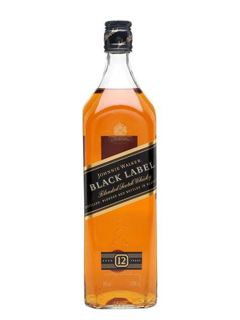 Black Label johnnie walker black label 12 year litre the