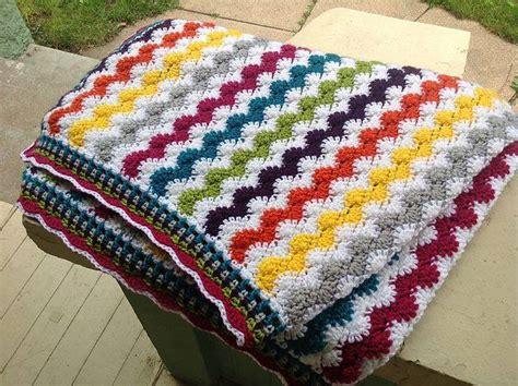 zig zag shell crochet pattern crochet zigzag shells baby afghan diy smartly