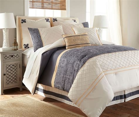 bedroom comforter set king 8 piece queen size comforter microfiber set bedding