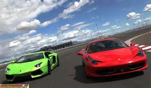 458 Vs Lamborghini Aventador Lamborghini Aventador Lp700 4 And 458 Italia In