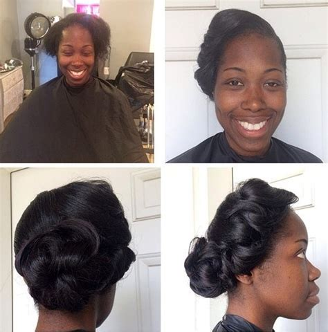 Wedding Bun Hairstyles For Black Hair by 50 Superb Black Wedding Hairstyles