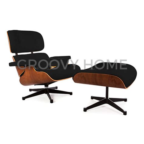 Eames Chair And Stool by Eames Style Leather Lounge Chair Ottoman Stool 163 839 99 Groovy Home Funky