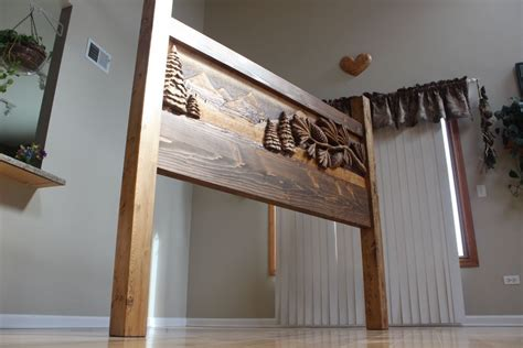 hand made custom hand carved headboards handmade beds
